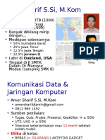 Kuliah 1 - 2 Komunikasi Data - Intro