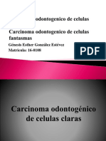 Carcinoma odontogenico de celulas claras.pptx