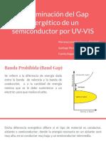 Determinación Del Gap Energético de Un Semiconductor Por UV-VIS