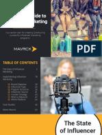 7 Steps to Influencer Marketing Mavrck 2016