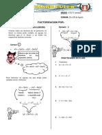 Clase 3- Factorizacion III
