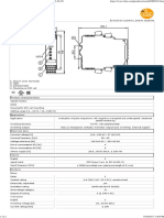 IFM Speed Relay DD0203 Data Sheet