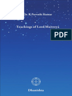 The Teachings of Lord Maitreya