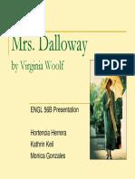 Dalloway Presentation