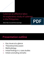 Cybersex as Affective Labor an Explorato
