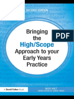[E-book] Bringing the High Scope Approach to Your Early Yaers to Practice - Nicky Holt