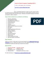 International Journal on Natural Language Computing (IJNLC)