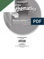 california mathematics grade 7