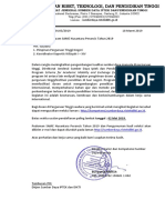 Surat Penawaran Program SAME Francis 2019