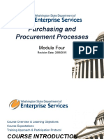 Purchasing and Procurement Processes
