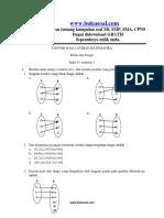 Docdownloader.com 2 Contoh Soal Latihan Matematika Relasi Dan Fungsi Kelas 8 Smpdocx