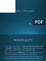 OB-Module 2.2 - Personality and Values