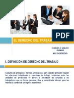 2. Clase-El Derecho Del Trabajo