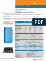 Datasheet MultiPlus Inverter Charger 800VA 5kVA FR