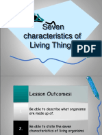 Grade 7 Science - Characteristics of Living Things