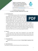 Proposal Delegasi Lomba