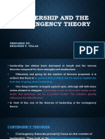 Leadership and the Contingency Theory.ppt