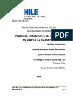 Proyecto Minera La Amanecida