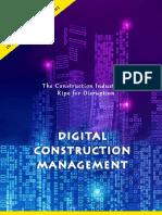 Digital Construction Management