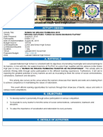 Activity Design for Buwan Ng Wika