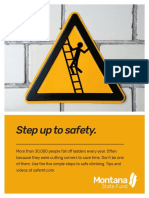 MSF Ladder Safety Safety Poster 8.5x11