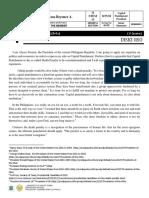 EJK Debate Paper (as President)