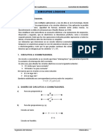 CIRCUITOS LOGICOS PRÁCTICA DE CLASE N° 2