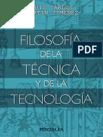 filosofia de la tècnica i la tecnologia