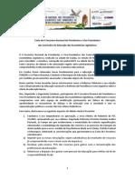 Carta Do II Encontro de Presidentes e Vice-Presidentes Das Comissões de Educação Das Assembleias Legislativas