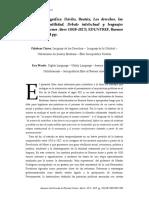 Reseña de Dávilo, Beatriz, Los derechos, las pasiones, la utilidad. Debate intelectual y lenguajes políticos en Buenos Aires (1810-1827)