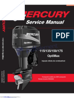 Manual de Operação E Manutenção Mercury 135 - 150 - 175 Hp O Portugues