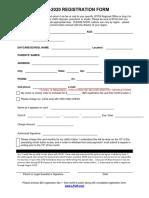 registration form 2019
