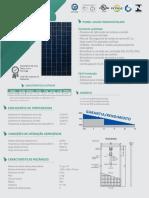 Painel fotovoltaico monocristalino 370Wp