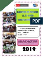 Carpeta de Tutoria 6029 - 2019