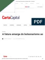 A Fatura Amarga Do Bolsonarismo Ao Ministério Público - CartaCapital