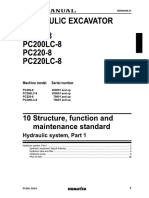 PC200-8 Hydraulic System