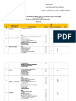 Planificare Anuala Clasa a 6-A