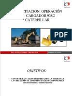 Curso Operación Cargador Frontal CAT 938 G