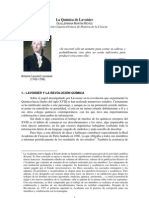 A revolução científica proposta por Lavoisier