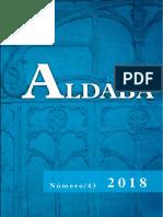 Revista Aldaba número 43 2018