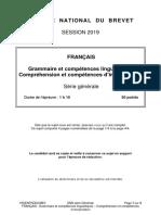Français GCL CCI