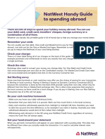 NW Spending Abroad Guide