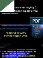 LAWS of LIFE Part IV Key Principles SUCCESS Grace Joshua 1.8 Aug 16 2019