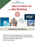 4 IAQ Modelling