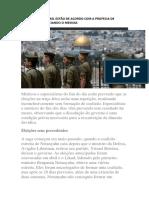 As Eleições de Israel Estão de Acordo Com a Profecia de Zacarias Prenunciando o Messias