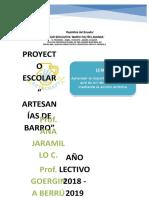 INFORME Proyecto de Barro