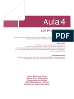 Lingua Espanhola v. Aula 04 - Los Pronombres