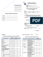 SF 9 - ES Learners Progress Report Card