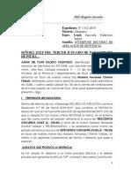 Apelacion Juana Talledo 2019-1