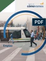 Informe de Indicadores Objetivos Sobre Cómo Vamos en Empleo, 2017